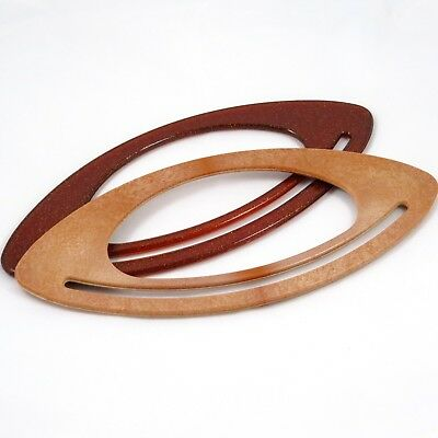Fish Eye Plastic Bag Handle - Brown / Wood like - Bag Making