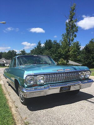 1963 Chevrolet Bel Air/150/210  1963 chevrolet Bel air