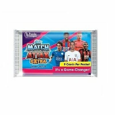 Topps Match Attax Extra Season 2017/18 Trading Cards (9 Cards in Packet)