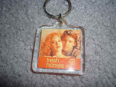 Molly Ringwald Andrew McCarthy Fresh Horses movie promo keyring x4 brat pack 80s