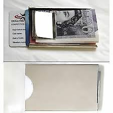 Sterling Silver Money and Credit Card Holder