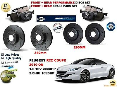 REAR BRAKE REPAIR KIT CALIPER SEALS BCK3845M PEUGEOT RCZ COUPE 2010-