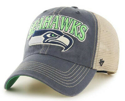 new style a0687 cc943 Seattle Seahawks Nfl Snapback Trucker Clean Up Dad Slouch Cap Hat Nwt!  47  Brand