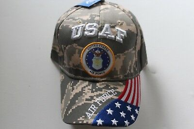 US Air Force Cap / Kappe  Official Product by U.S. Air Force Neu  Army Shop