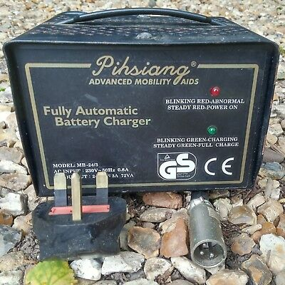 Pihsiang MB-24/3 Battery Charger for Mobility Scooters Fully Automatic 3A 24V