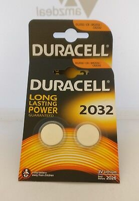 Duracell - 3V - Lithium Battery x 2 PACKS OF 2 = 4 IN TOTAL