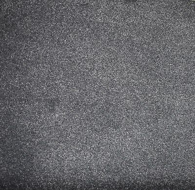 SOFT DENSE Thick Dark Grey Action Back 5m Wide Carpet £10.50m²