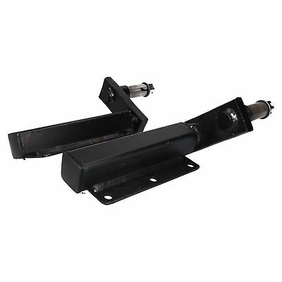 "350kg Trailer Suspension Unit (Pair) & Cast Wheel Hubs & 3.50 - 8 Wheels 4"" PCD"