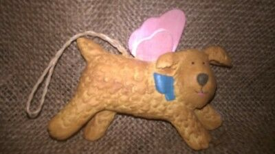 RARE Tomie dePaola Christmas Dog Ornament by Midwest of Cannon Falls