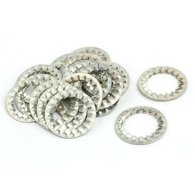 10 x 25mm Serated washer for earth continuity cable gland bonding Atex hazardous