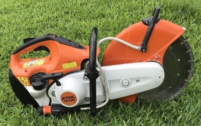 "STIHL TS 420 14"" CONCRETE CUT OFF SAW w/ WATER KIT & 14"" DIAMOND BLADE TS420"