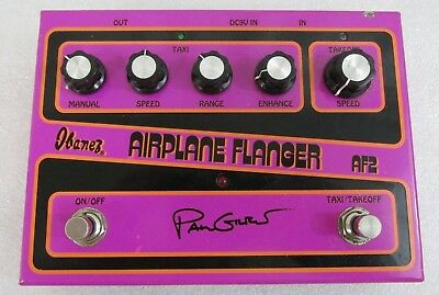 Ibanez AF2 Paul Gilbert Airplane Flanger Chorus Guitar Effect Pedal