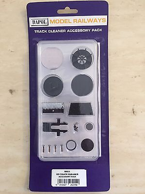 Dapol B803 - Accessory Pack for HO/OO Motorised Track Cleaner (B800) - Freepost