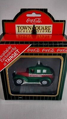 Coca Cola Town Square Collection Tony's Pizza Delivery Truck Vtg 1996 Target