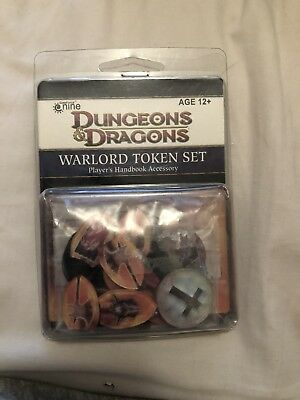 Dungeon & Dragons by Galeforce NINE Warlord Token Set Players Handbook Accessory