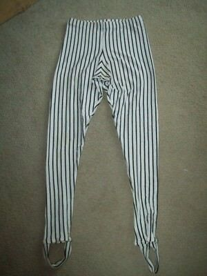 "vtg ""JAGWARE"" BODYWEAR SPANDEX Leggings MEN'S M bodybuilding aerobics GYM bike"