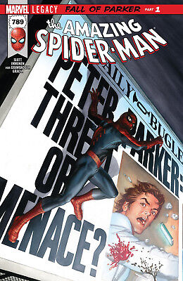 Marvel The Amazing Spider-Man Volume 1 Issue # 789 Legacy Fall of Parker Part 1
