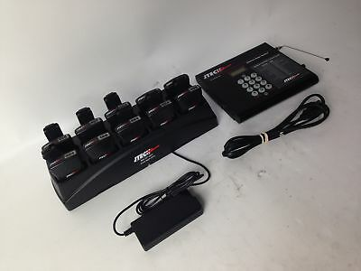 Jtech Premises Pager System w/ Pagers and  Charging Dock  613779 *SOLD AS-IS