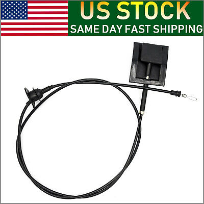 New Hood Latch Release Cable w/Handle Fits 1992-97 Ford Trucks F-Series & Bronco