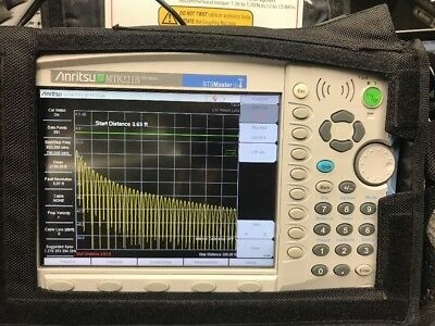 Anritsu MT8221B BTS Master Baset Station Analyzer, PowerXpert Usb power Sensors