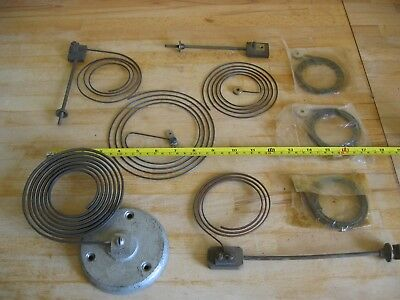 Collection Vintage Clock Chimes, Coils, Gongs, Parts - Various Sizes - Job Lot
