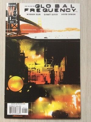 Global Frequency #1  US IMAGE Comics  WARREN ELLIS