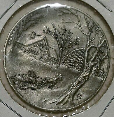 American Mint Associates Media Pa Rochester NY Currier & Ives Medal