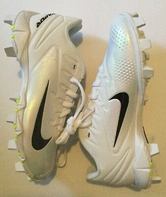4c46ab67d Nike Boys Youth Vapor Ultrafly Keystone BG Baseball Cleats 856494 101 White  1.5