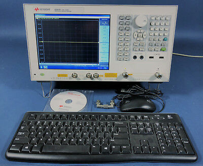 Keysight Agilent E5061B/005/1E5/3L5 LF-RF Network Analyzer, 3 GHz