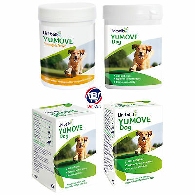 Lintbells YuMOVE Dog Joint Supplement for Stiff, Older Dog 60/120/240/300 Tablet
