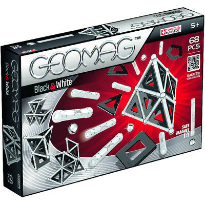 Geomag Panels Black and White 68 Teilig (NEU)