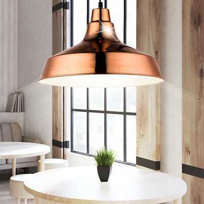 Country House Style Ceilings Hanging Lamp Dinner Room Pendulum Spotlight Copper