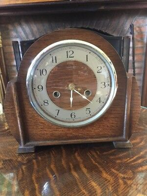 smiths enfield mantle clock C1920 (with modern workings)