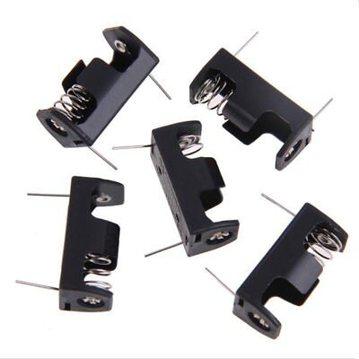 5x1/2AA 14250 Battery Storage Clip Box Case Holder 3.6V With PCB Pin Solder N9Q7
