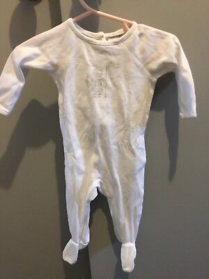 Burberry baby stretchie size 3 months