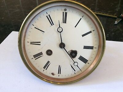 French Clock Movement For Spares/Repairs