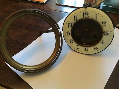 French Striking Clock Movement For Spares, Repairs.