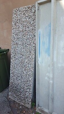Concrete sectional garage used
