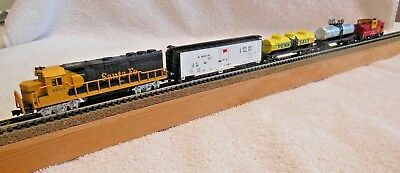 Model Railroad-N Scale-5 Piece Train-Bachmann-PreOwned-Runs Great-Excellent