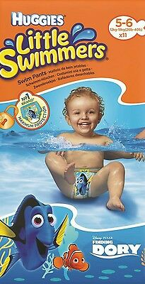 Huggies Little Swimmers Nappies Size 5-6 (12kg-18kg) - 6 Pants
