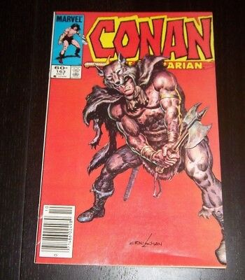 Conan The Barbarian #163  - Cavern Of The Vines Of Doom!  Copper Age 1984