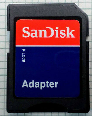 Micro SD SDHC Memory Card Adapter To Standard SD, with case *UK STOCK*