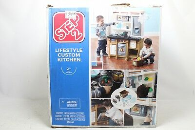 step2 lifestyle custom kitchen playset 856900 preowned - Step2 Lifestyle Custom Kitchen