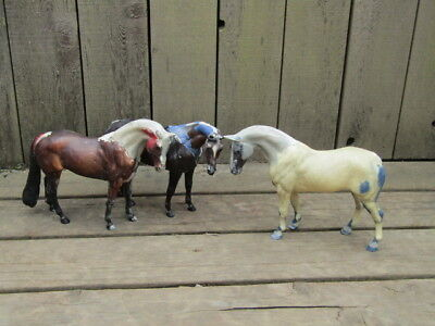 Breyer Body Lot of 3 Traditional Thoroughbreds or Warmblood Projects