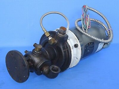 "Sterlco coolant pump 3/4"" with 0.75 hp motor Baldor JM3111-Z"