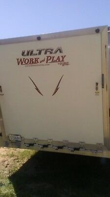 2015 Forest River Ultra work and play toy hauler trailer