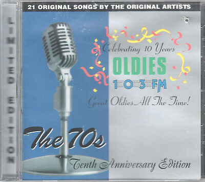 WODS Presents: The 70s - 10th Anniversary Edition by VA (CD) 21 Originals/Sealed
