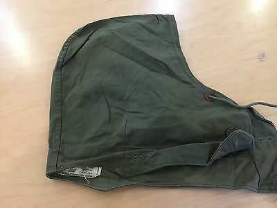 WW2,m 43 hood for jacket  or overcoat, used ,medium or small