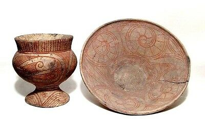 Undefined ceramic vessels Group with decoration 300 BC - AD 200