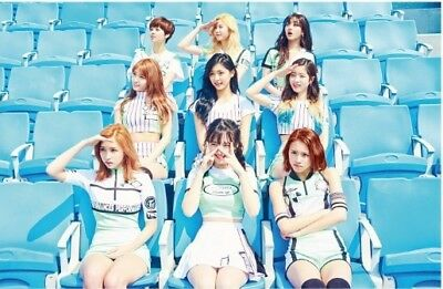 Twice Page two-Cheer up 2st Mini Album CD+Photobook 72p + Garland + Photocard